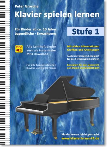 Klavier spielen lernen - Stufe 1