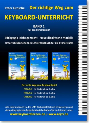 Der richtige Weg zum Keyboard-Unterricht - Band 1