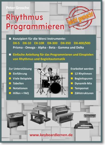 Rhythmus Programmieren für Wersi Instrumente